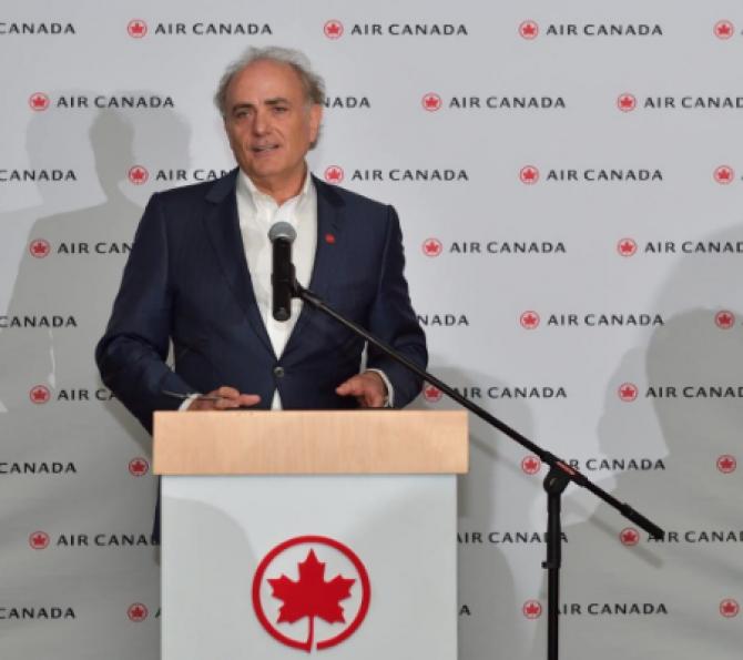Călin Rovinescu, CEO Air Canada