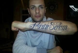 Tatuaj cu Florin Salam