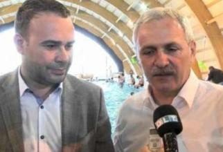 Liviu Dragnea și Darius Vâlcov. foto: Realitatea TV