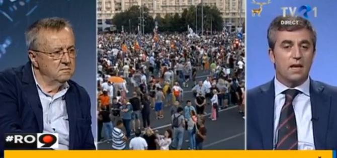 Miting diaspora. Președintele Asociației Românilor din Italia: Asta era tema pe care voiam să o propunem
