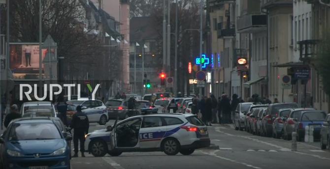 Atac Strasbourg interventie politie