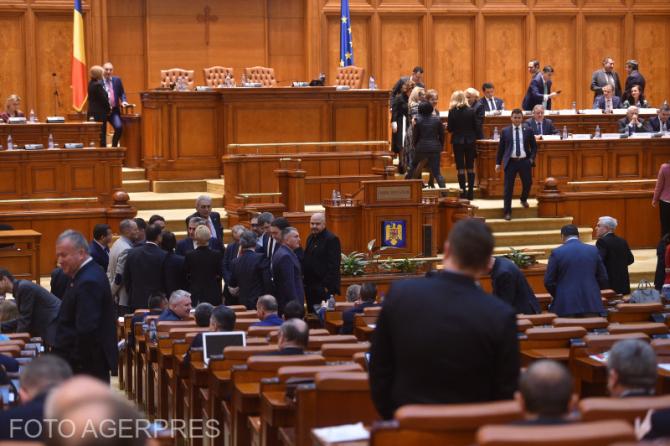 Sedinta Parlamentul Romaniei