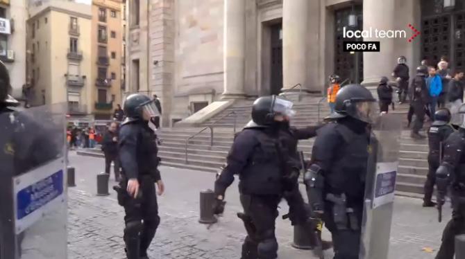 Proteste Spania - separatisti catalani