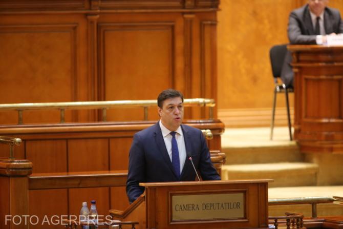 Serban Nicolae in Parlament