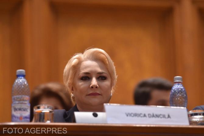 Viorica Dancila in Parlamentul Romaniei