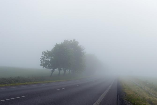 Cod galben de ceață pentru mai multe județe din țară
