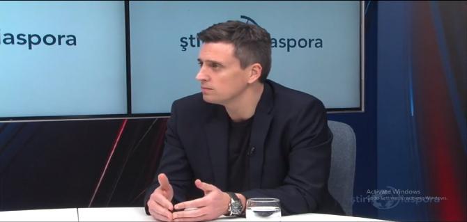 Catalin Ivan - interviu StiriDiaspora.ro