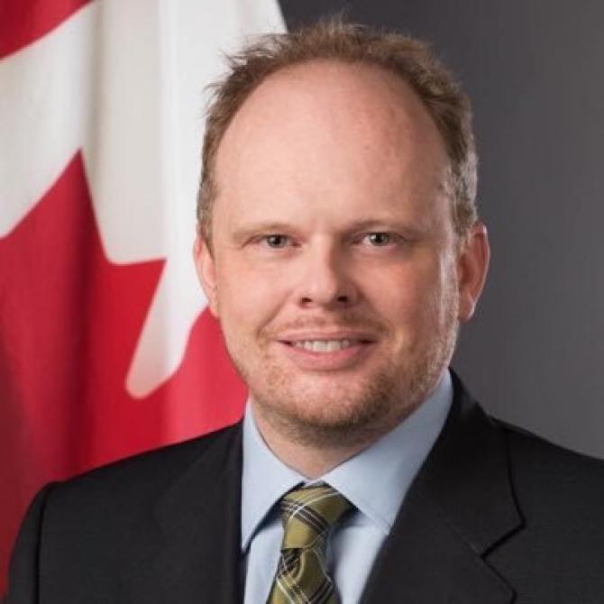 Kevin Hamilton - ambasador Canada - Twitter