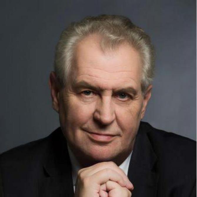Milos Zeman presedinte Cehia