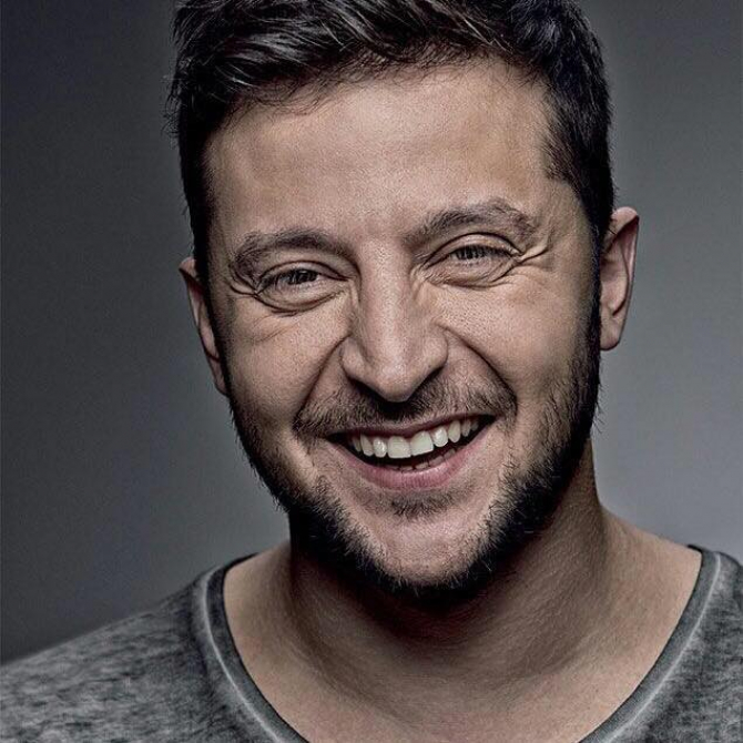 Volodymyr Zelensky - actor ucrainean