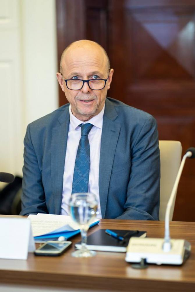 Pieter Bult, Reprezentantul UNICEF în România. sursa: UNCEF România / Facebook