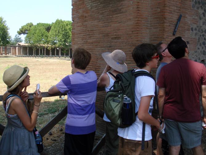 Turisti Popmeii Italia