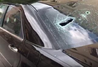 Maşina jurnalistului Liviu Alexa, vandalizată - captura video Ziar de Cluj
