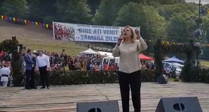 """Corina Creţu, la """"Sâmbra Oilor"""", declaraţii critice la adresa Vioricăi Dăncilă. Sursa: screenshot video"""