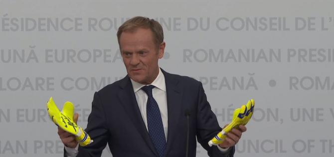 Donald Tusk, preşedintele Consiliului European