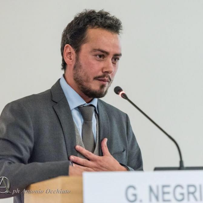 Gianmarco Negri, primar Tromello. sursa: Facebook