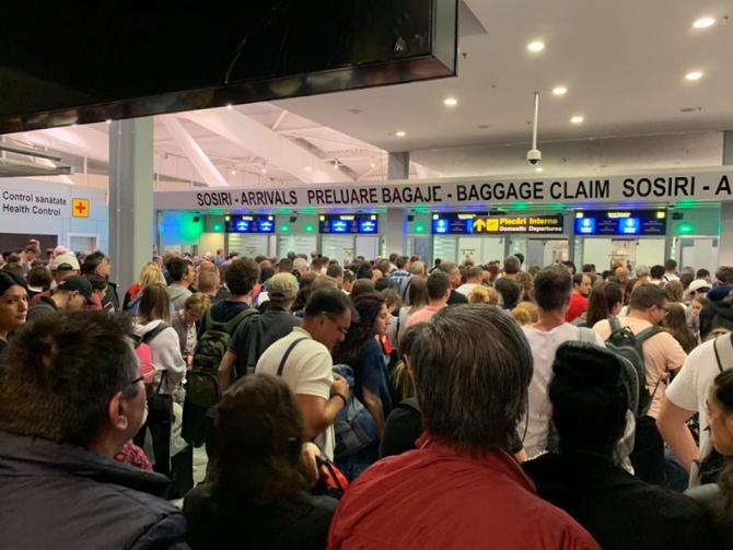 Aeroportul Otopeni. Sursa foto: Victor Ponta / Facebook