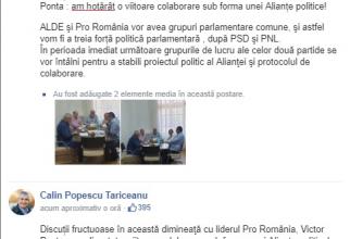 sursa: Călin Popescu Tăriceanu / Facebook