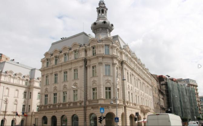 Hotel Continental, Calea Victoriei. Din balconul apartamentului regal, în aprilie, 1992, Regele Mihai s-a adresat românilor la revenirea în țară Arhivă DC News