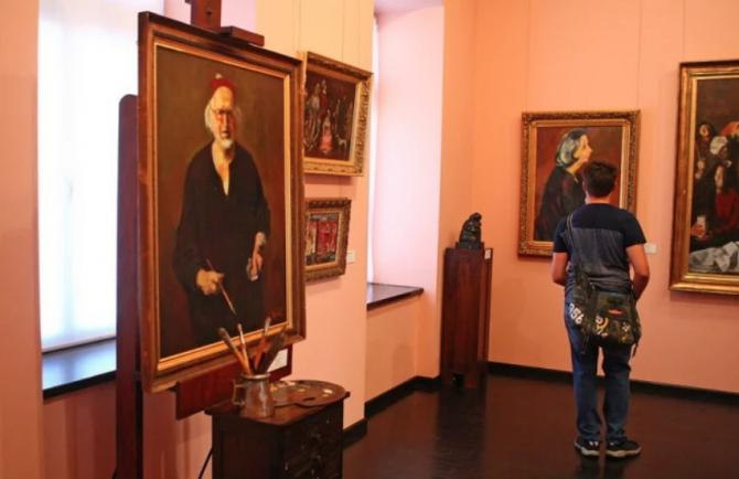 Corneliu Baba, self-portrait Archive DC News