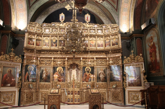The White Church Iconostasis. Photo: Crișan Andreescu