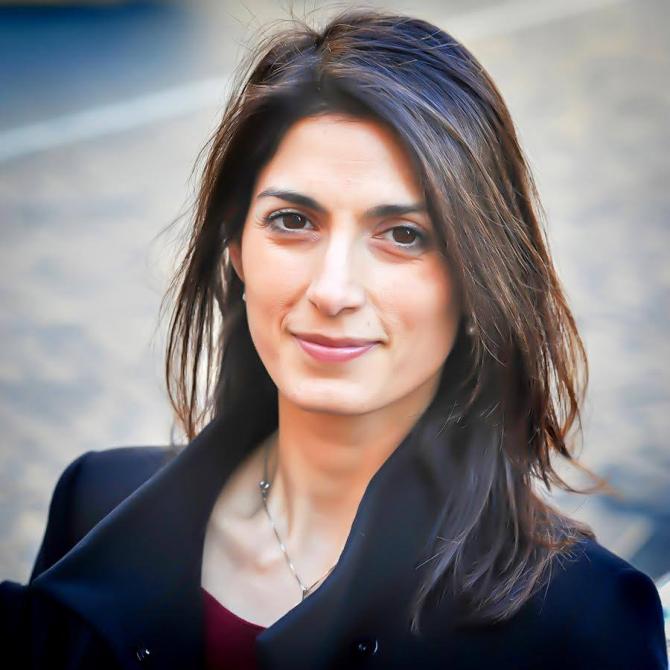 Virginia Raggi - primarul Romei. sursa: Facebook