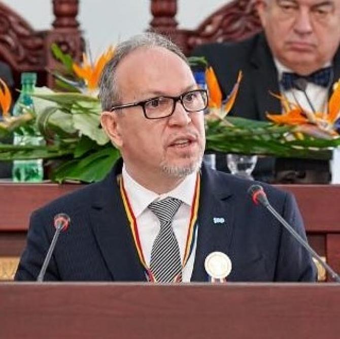 Daniel Ioniţă, ambasadorul României în Republica Moldova