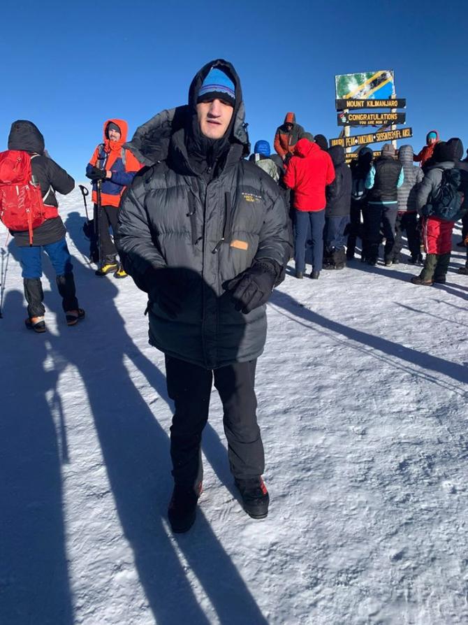 Alex Benchea, alpinist român. sursa foto: Facebook