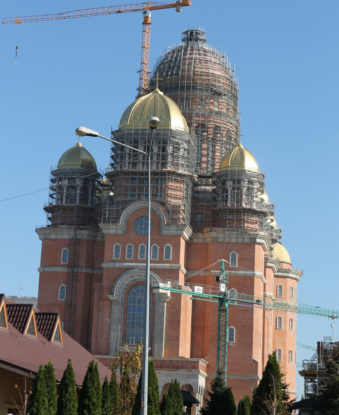 Catedrala, în stadiul actual Foto: Crișan Andreescu