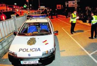 politia_spania_tren