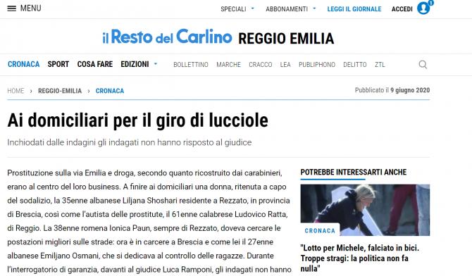 roman arestat italia retea prostitutie