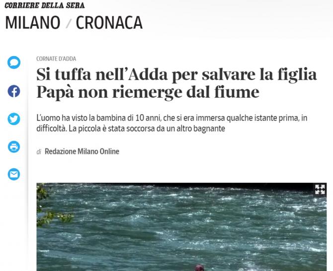 roman erou italia a salvat o fetita de la inec