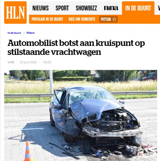 roman accident bmw belgia