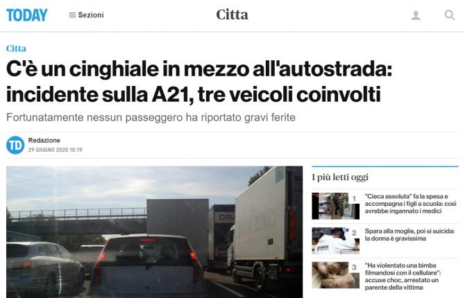 accident mistret autostrada italia