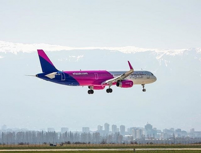 Sursa foto: Facebook @Wizz Air