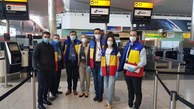 sursa foto: Secția consulară a Ambasadei României la Londra / Facebook