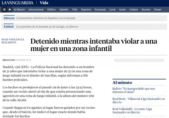 arestat roman spania viol madrid