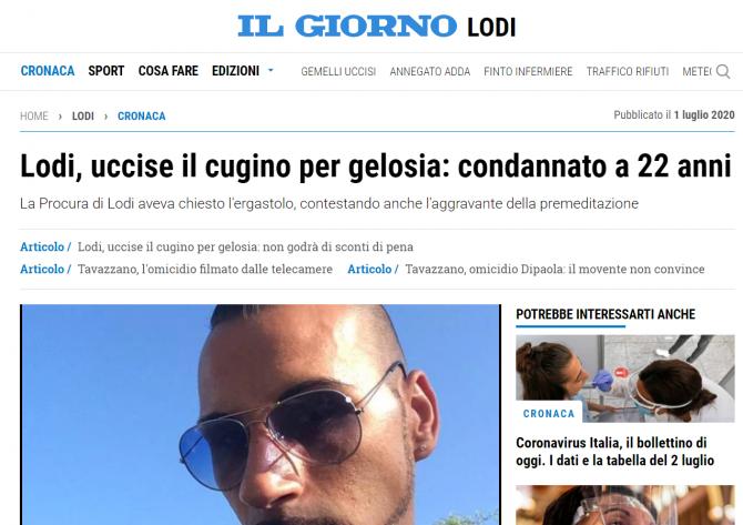 crima pasionala italia romanca