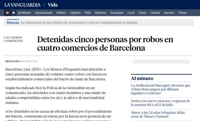 jaf spania romani arestati