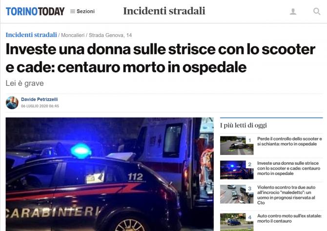 asistenta romanca italia accident trecerea de pietoni