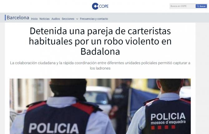 romani arestati spania talharie