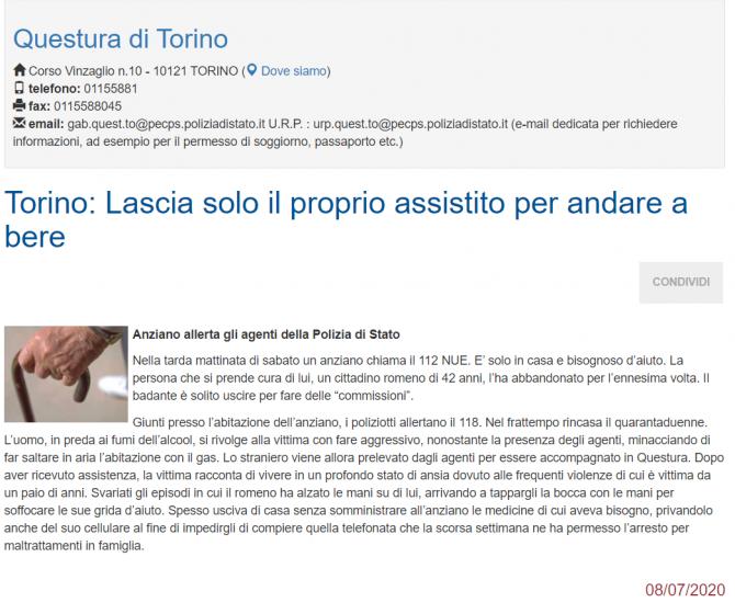 ingrijitor roman italia arestat
