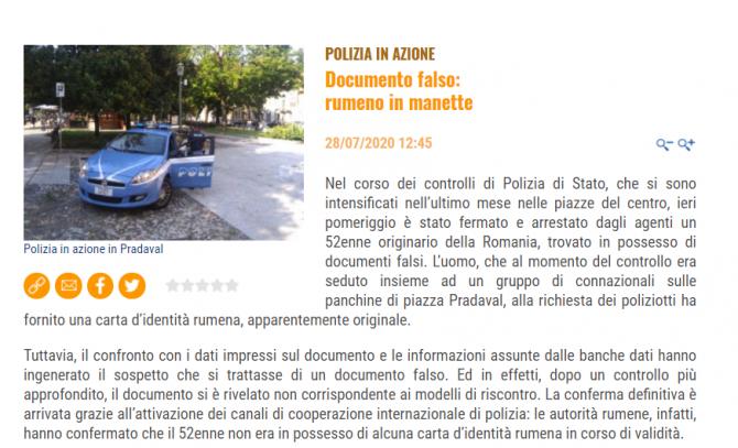 buletin fals roman italia 250 de euro