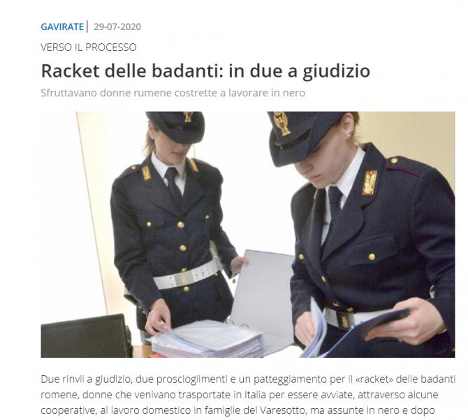 badante exploatate italia