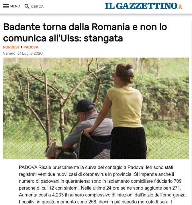 italia badanta amendata reguli