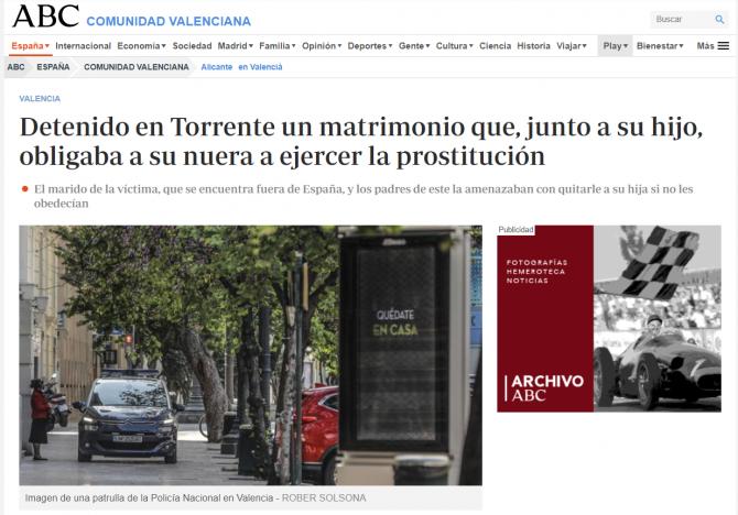 spania romanca obligata sa se prostitueze