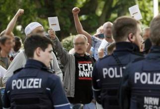 Sursa foto: Facebook @Düsseldorf stellt sich quer