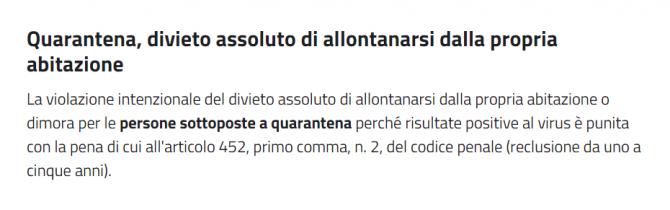 roman italia carantina