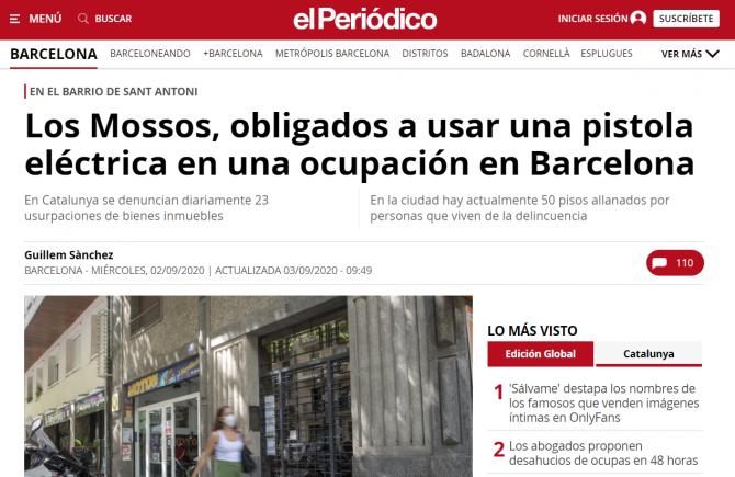 roman spania ocupat abuziv