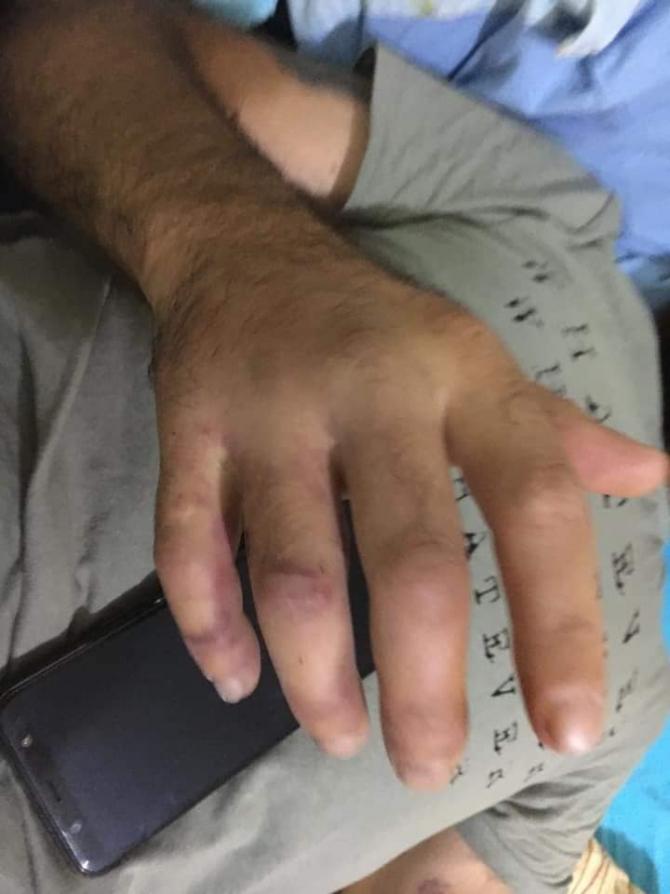 barbat torturat politisti bucuresti